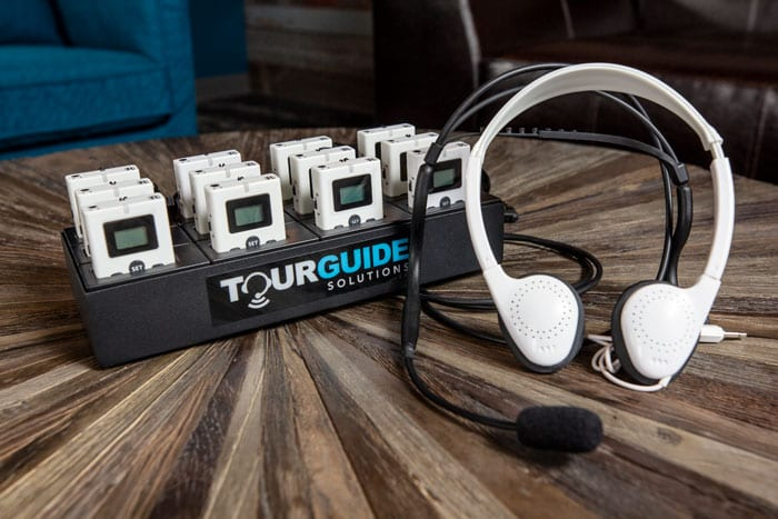 TGS-900 Tour Guide System with Receiver and Headset